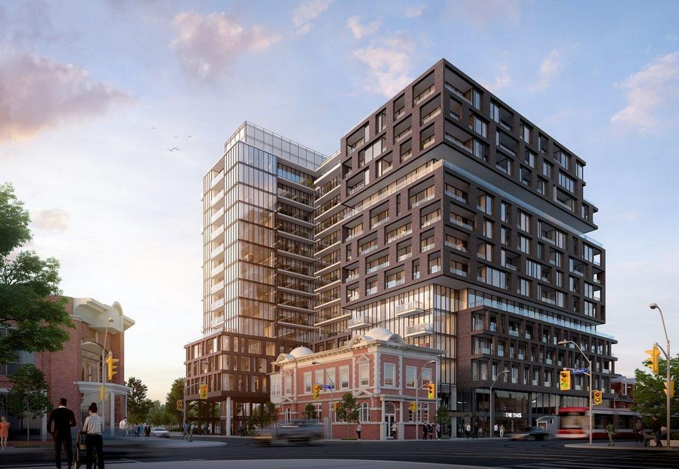 XO公寓,King West/Dufferin st绝佳路段, 多伦多市中心,紧邻Smart Track车站