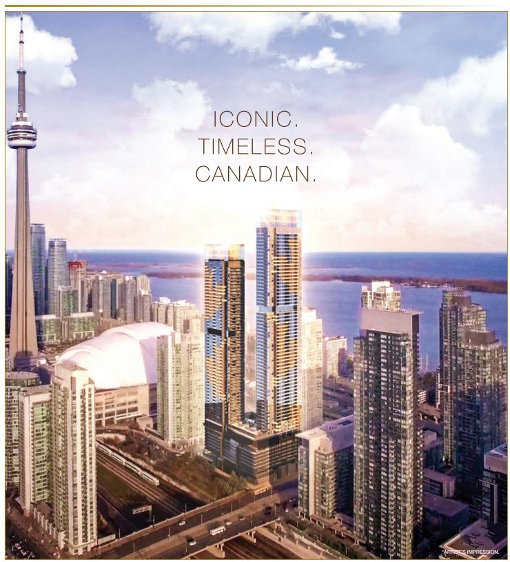 Concord Canada House 九楼正式发售,奢华湖景房,地标楼王,不容错过!