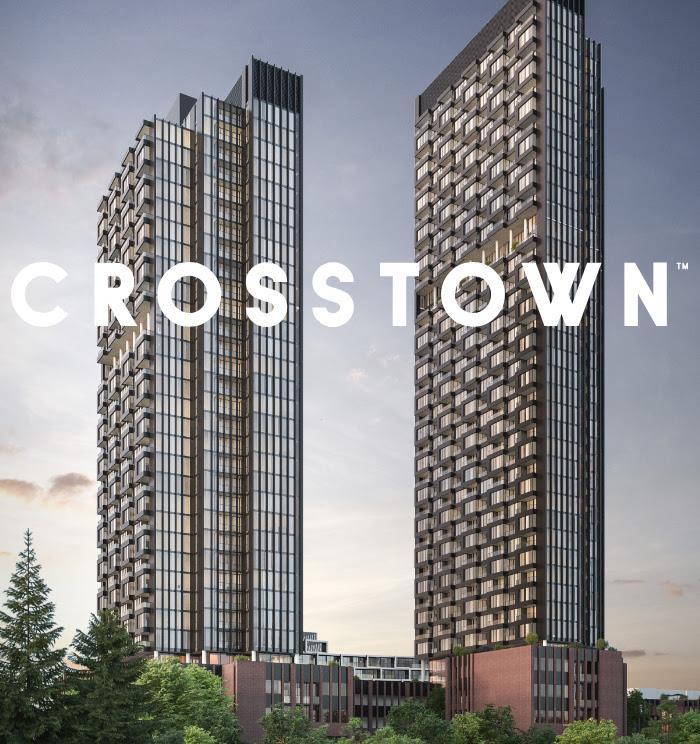 楼下直通轻轨Crosstown Condo豪华公寓